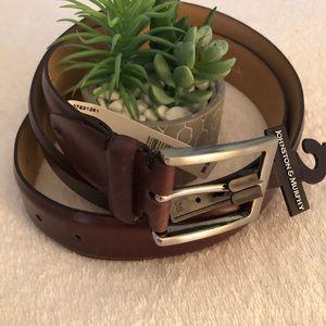 Johnston & Murphy all Leather belt